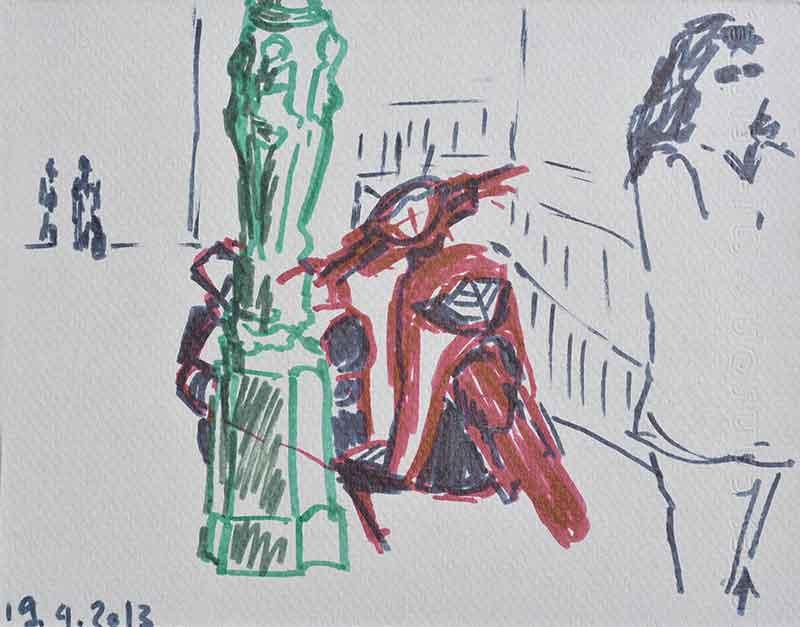 Gemälde der Kunstmalerin Barbara Storti in Liestal Malunterricht Malkurs