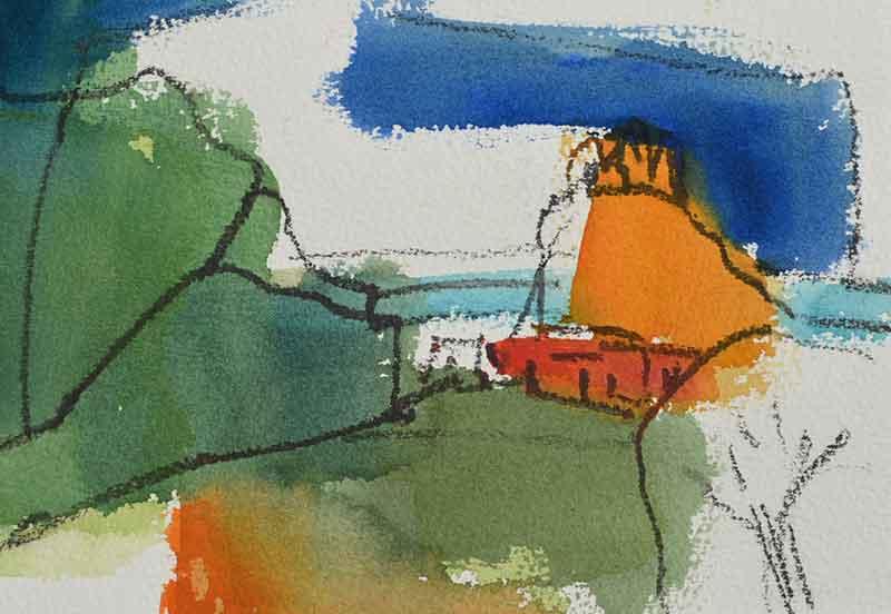 Gemälde der Kunstmalerin Barbara Storti in Liestal Malwochenende