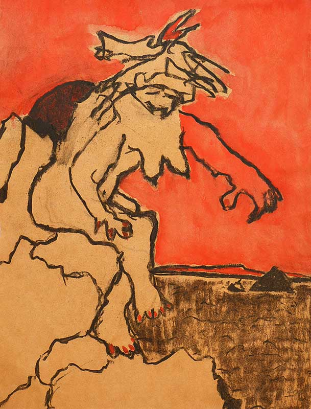 Gemälde der Kunstmalerin Barbara Storti in Liestal Kunstausstellung